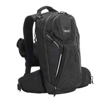 Wholesale High quality nylon black backpack Motorcycle sports bag backpack travel racing bag can mix order