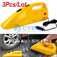 Vacuum Cleaner Vacuum Cleaner Guangdong China (Mainland) Wholedale 3Pcs Lot Car Auto Vacuum Cleaner + Air Compressor Tire Inflator