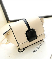 Wholesale womans Mini Handbag hit color shoulder bags new Japan fashion small fresh cross body bag colors