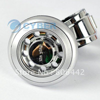 Steering Wheels & Steering Wheel Hubs 5416# Silver Free Shipping New Silver Hand Control Power Handle Grip Spinner Knob Car Steering Wheel Ball