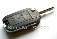 Wholesale Remodel Case Uncut Blank Flip Folding Key Shell For Peugeot Buttons Switchblade Fob