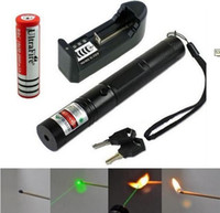 Wholesale 5000mw w nm high power green laser pointers can focus burn match pop balloon charger
