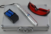 Blue No No strongest 450nm 20000mw 20W blue laser pointer adjustable burn smoke with 5 laser heads
