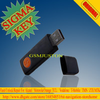 Wholesale The newest sigma key sigmakey dongle for alcatel alcatel huawei flash repair unlock