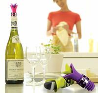 Bar wine - Lily wine bottle stopper wine pourer red wine opener