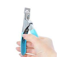 Свободная перевозка груза! Кусачек для маникюра Инструмент акриловый гель Ложные Nail Clipper / Край Cutter Советы Nail Professional