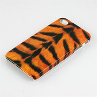 For Apple iPhone Plastic Case free shipping,leopard print Hard Skin Cover Case for iphone 4 4s