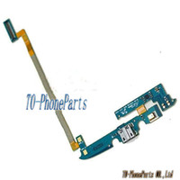 Wholesale For Samsung Galaxy S4 Active i537 i9295 USB Port Dock Charging USB connector ribbon amp Mic Flex Cable Replacement Parts