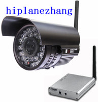 Wholesale High Power W Long Range Meters Infrared IR Night Vision ft CCD GHz Wireless CCTV Camera F