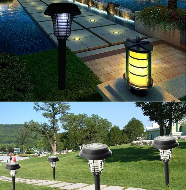 2017 Solar Powered Outdoor Decorations Superacids Punkie Lights Garden Lawn Decoration Light