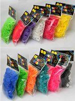 Unisex rubber band rainbow loom - Rainbow Loom Rubber Bands for Rainbow Loom Bracelet eco friendly bands S