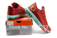 Wholesale Kevin Durant Men Athletic Shoes New KD6 VI Basketball Shoe Discount Cheap Brand Name Shoe size
