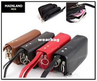 class a bags - MAINLAND A class full grain genuine leather bag for cellphone coin credit card YSK1005