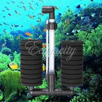 Aquariums & Accessories Filter Media Eco-Friendly Aquarium Biochemical Bio Sponge Filter Air Pump With Suction Cup Fish Tank Fry Shrimp Breeding Oxygen Filtration Foam XY-2822
