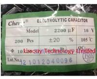 Wholesale 200pcs X New Chengx UF V X20 Electrolytic Capacitor LOW ESR Aluminum