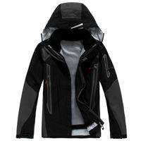 Wholesale outdoor men Jackets NEW breathable waterproof windproof pieces Rainproof softsmell men wear sport Jacket BRAND