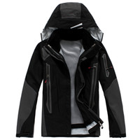 Wholesale outdoor men Jackets NEW breathable waterproof windproof pieces Rainproof softsmell men wear sport Jacket BRAND