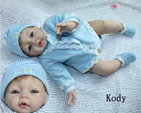 Unisex 3-4 Years Latex modeling boneca lifelike reborn baby dolls silicone child doll,silicon+PP cotton,hand made,can sit lie, 52cm, vivid, lovely face
