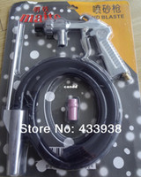 Wholesale High quality blasting gun with ceramic nozzle sandblaster gun blaster gun with nozzles mm mm