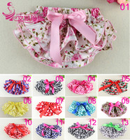 Girl ruffle diaper cover - Flower Satin Ruffled Baby Bloomer Baby Diaper Cover