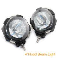 Wholesale 4 inch W Car HID Xenon Driving Flood Spot Beam Light Offroad Lamp H3 Bulb K Q0092