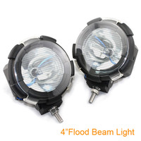 Wholesale 4PCS New inch W Car HID Xenon Driving Flood Spot Beam Light Offroad lamp H3 Bulb K Q0092