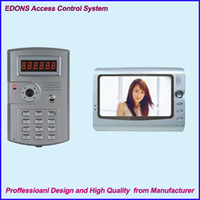 Wholesale Promotion EDONS Video Access Control System with Multicolor High Definition Video Door Phone with IC Cards Free