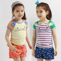 Cheap Girl wholesale boy clothes Best Summer Short China children clothing