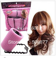 Wholesale Hot Sale Large Sponge Velcro Cling Hair Styling Roller Curler Making Tool Roll Salon DIY