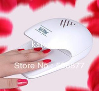 Wholesale Nail art toiletry kit nail art dryer machine nail polish oil dry machine small mini finger dryer