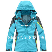 Wholesale High Quality Female Outdoor Winter in1 Waterproof Climbing Jacket Skiing Jackets Sportwear PIZEX