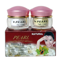 Wholesale Pearl whitening amp anti aging anti wrinkle face cream skin care