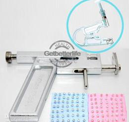 Wholesale piercing kit Steel Ear amp Tattoo Body Piercing Gun