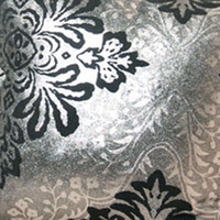 Wholesale Wallpaper Suede Fabric Table Ornament Silver Stamping Coffee Table Floral Pattern Runner Tablecloth jhzhq02