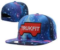 Wholesale 1pcs galaxy trukfit men cap snapback caps snapbacks hip top hat sports hats baseball cap
