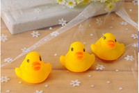 Rubber 0-3years,3-7years Christmas Baby Bath Water Toy toys Sounds Yellow Rubber Ducks Kids Bathe Children Swiming Beach Gifts