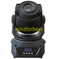 Wholesale 4XLOT W LED moving head spot light DMX channels Disco KTV DJ Bar stage lighting