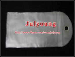 Sac de rangement clair à vendre-Sac de vente au détail Emballage emballage Étanche Zipper transparent Plastique pour Samsung galaxie S4 I9500 S3 S5 I9600 Iphone 7 6 6S Leathe Pouch Hard Sof Case