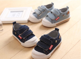 Wholesale Spring Autumn Baby Denim Board Shoes Size Fit Small Kid s Sneaker Baby s Boy Girl Canvas Casual Shoes GX78