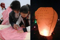 Sky Lantern Holiday  Hot Sky Lanterns,Wishing Lantern fire balloon Chinese Kongming lantern Wishing Lamp BIRTHDAY WEDDING PARTY Wishing Lamp
