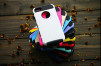Hybrid Armor Glossy Hard Back Plastic TPU Shock Dirt Proof C...