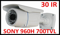 Wholesale CCTV Security Sony Effio High Resolution H TVL Day Night Infrared Color LED waterproof CCD Camera with bracket