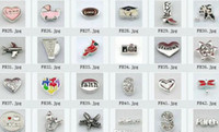 Wholesale 480pcs Mixed styles Floating Charms For Glass Memory Living Floating Locket Pendant Xmas Gift No Locket