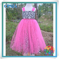 TuTu Summer Ball Gown new design wholesale baby charming dresses fashion tutu dress 2 layers with chest and wide shouldres straps set for kids 12pcs lot(10)