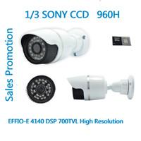 Wholesale Free ship High Resolution H Sony CCD Effio E TVL CCD camera CCTV camera IR Dome CCTV Camera security CCD IR CCTV Camera