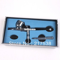 Wholesale 1pc Painting Tool Kit cc Air Brush mm Dual Action Trigger Control Airbrush Gun Spray Nail Art Kits For Women