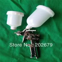 HVLP Paint Spray Gun 120CC and 250CC H-2000 air spray gun Automotive repair spray gun, mini spray gun, gun H2000, HVLP spray gun 250ML 120ML 2pcs cup