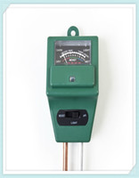 soil ph moisture meter - 50pcs in PH Tester Soil Water Moisture Light Test Meter for Garden Plant Flower by DHL