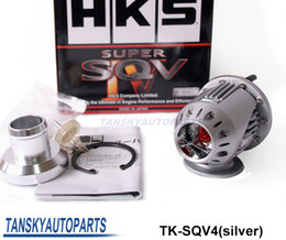 Wholesale High Quality Universal Aluminum Blow Off Valve HKS SQV4 BOV silver copy Have In Stock TK SQV4 sliver