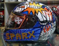 Wholesale Sparx S BOOM helmets motorcycle PAAAM Full Face helmet automobile race helmet sports car motorcycle helmet Motorbike helmets